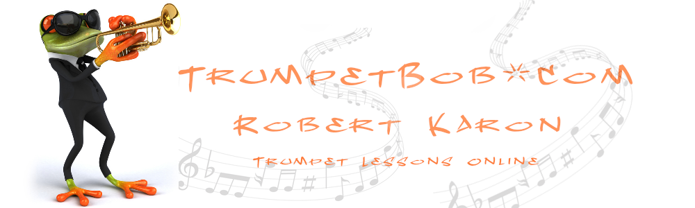Online Trumpet Lessons & Consultations With Robert Karon